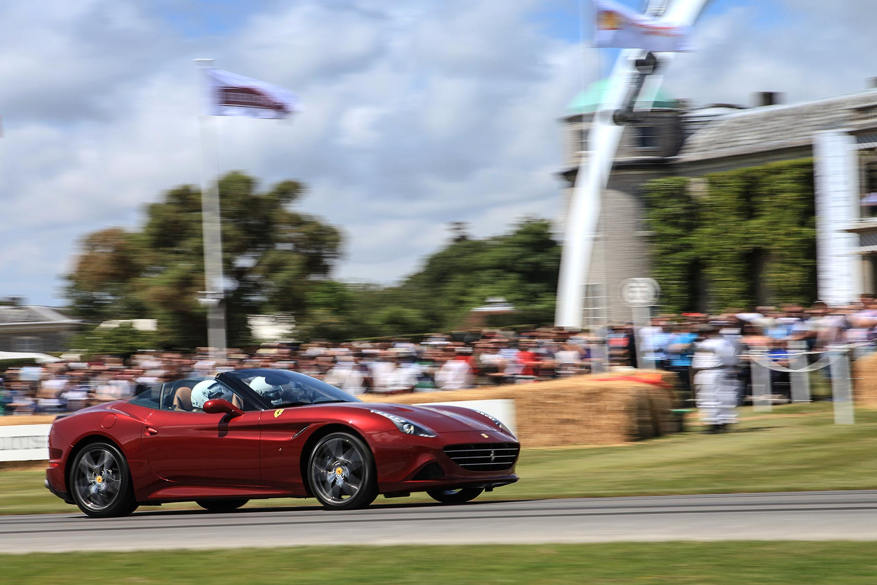 Ferrari California T at Goodwood