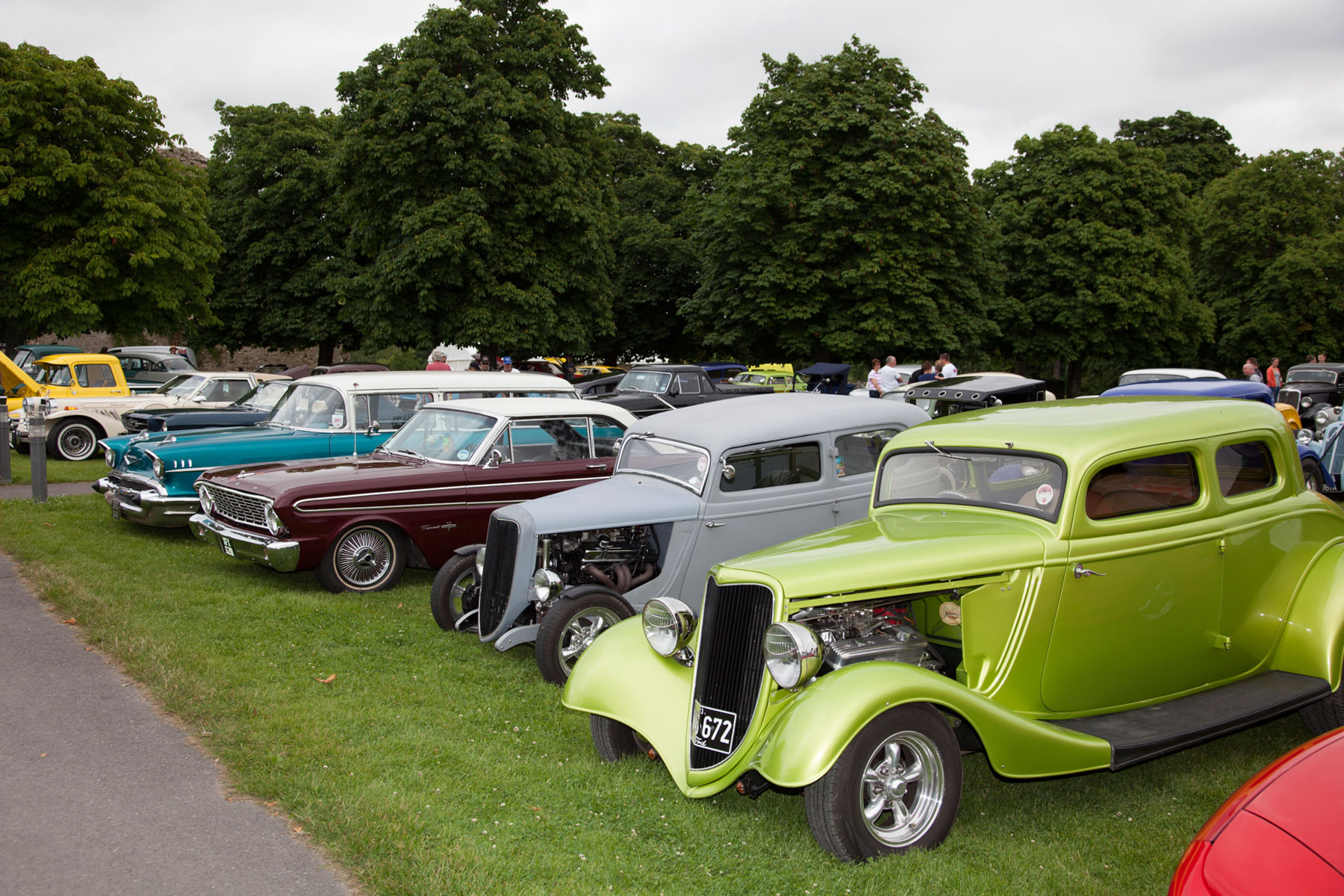 Hot rod & custom drive-in day – Beaulieu: £18
