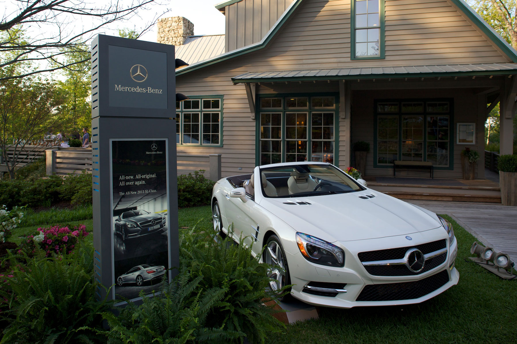 Mercedes-Benz at Augusta