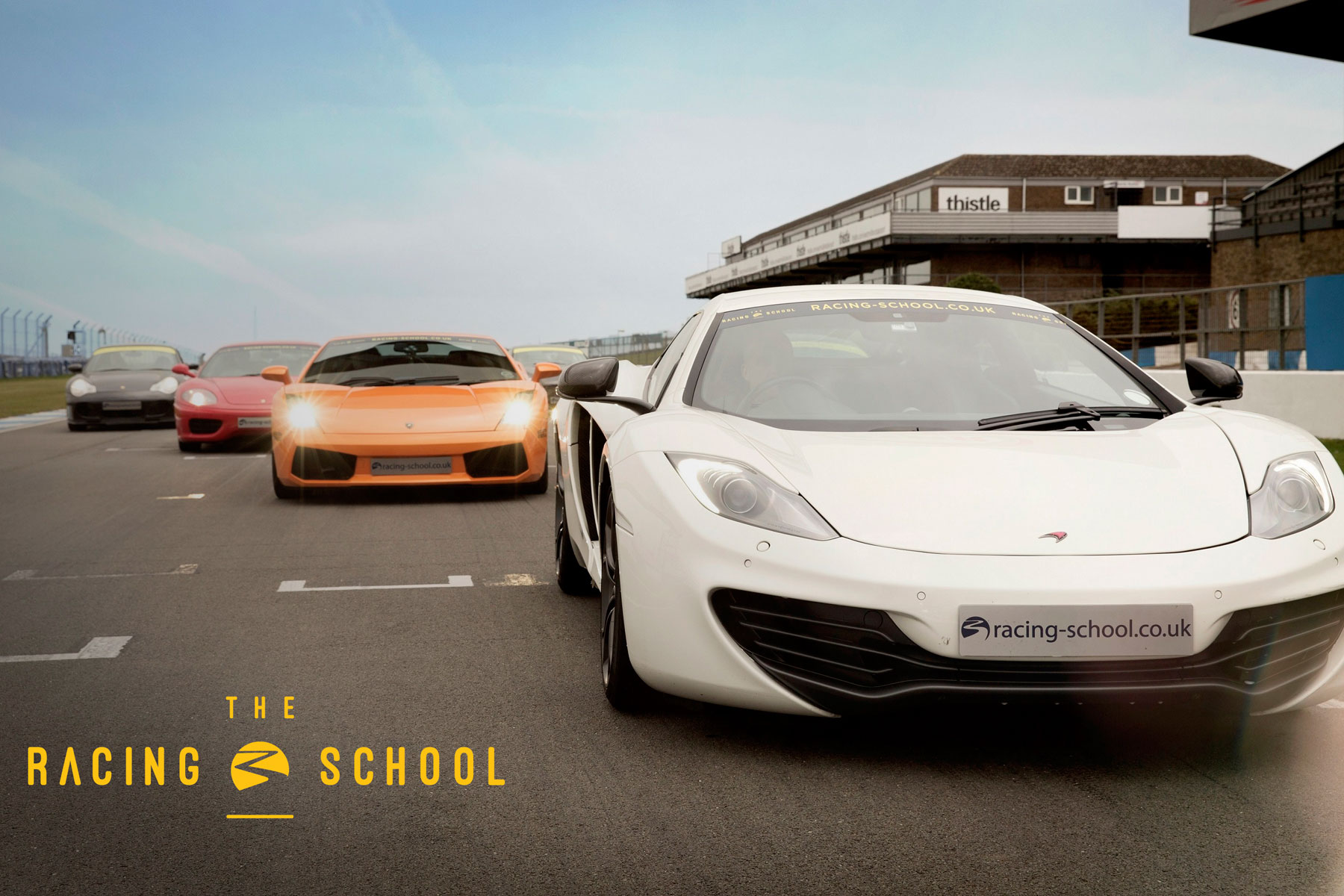 The Racing School experience: from £79