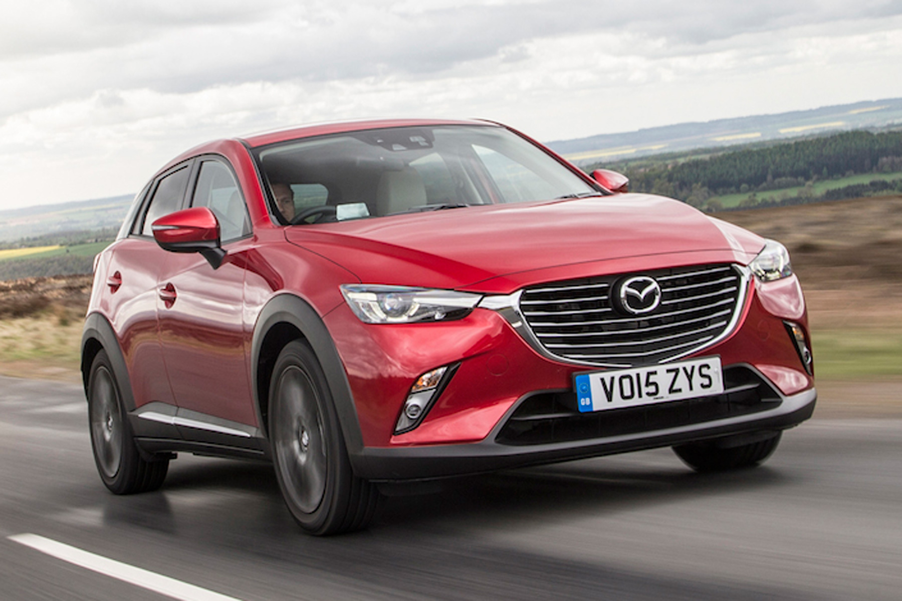 Mazda CX-3: On the road