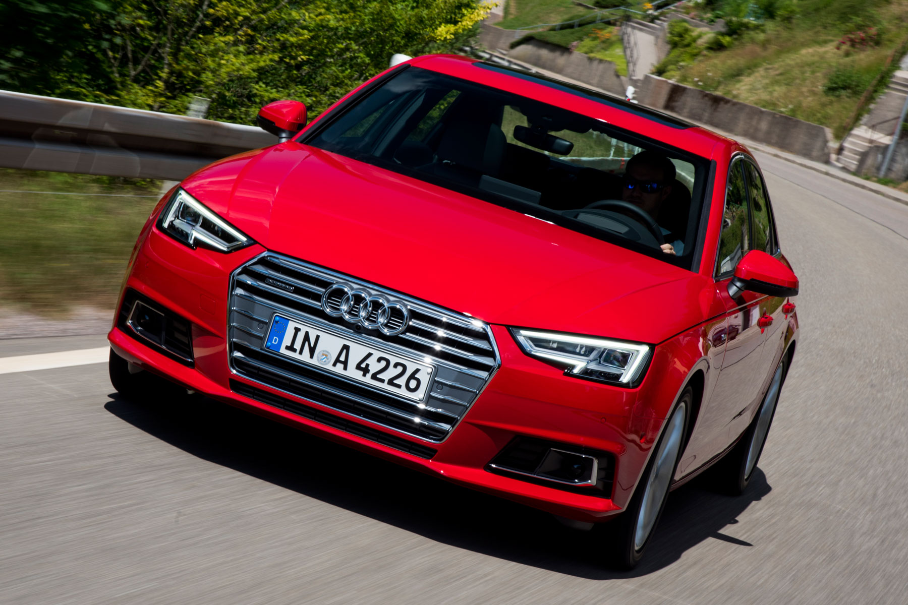 Audi A4 prototype review: 2015 first drive