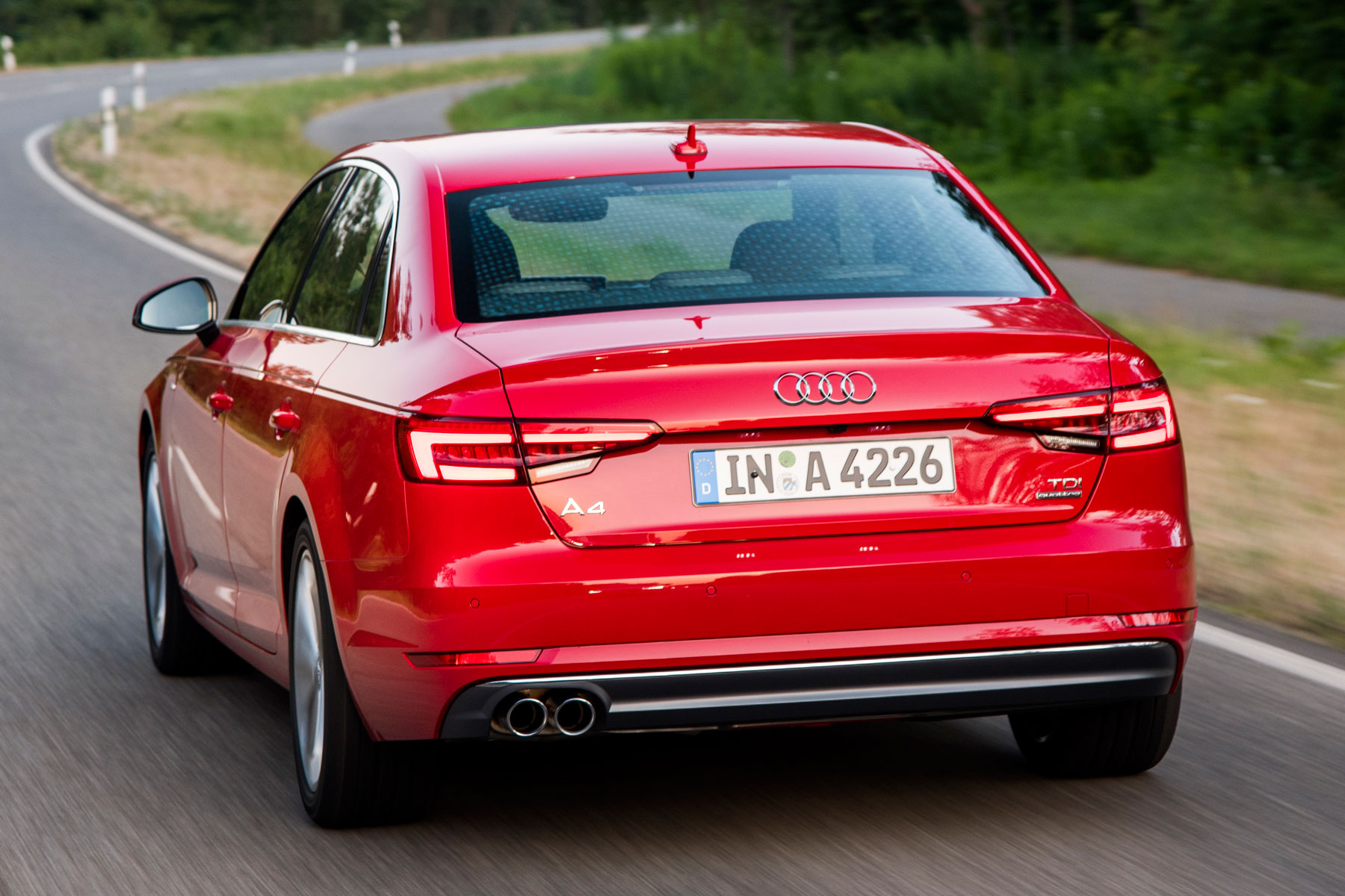 2016 Audi A4: on the road