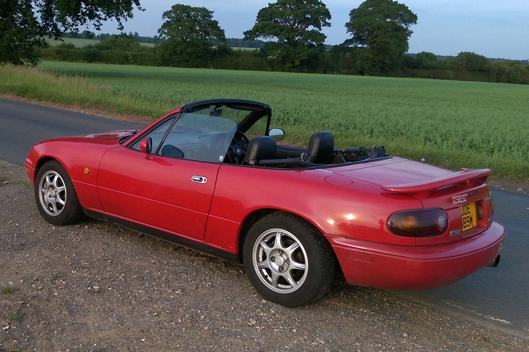 1993 Mazda MX-5 S-Special: goodbye