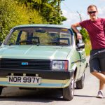 1983 Austin Metro HLE: new arrival