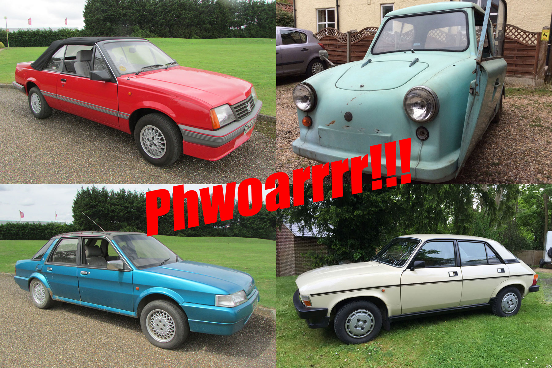 Anglia Car Auctions: 10 cars we shouldn't want (but do)
