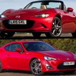 Mazda MX-5 versus Toyota GT86: 2015 twin test