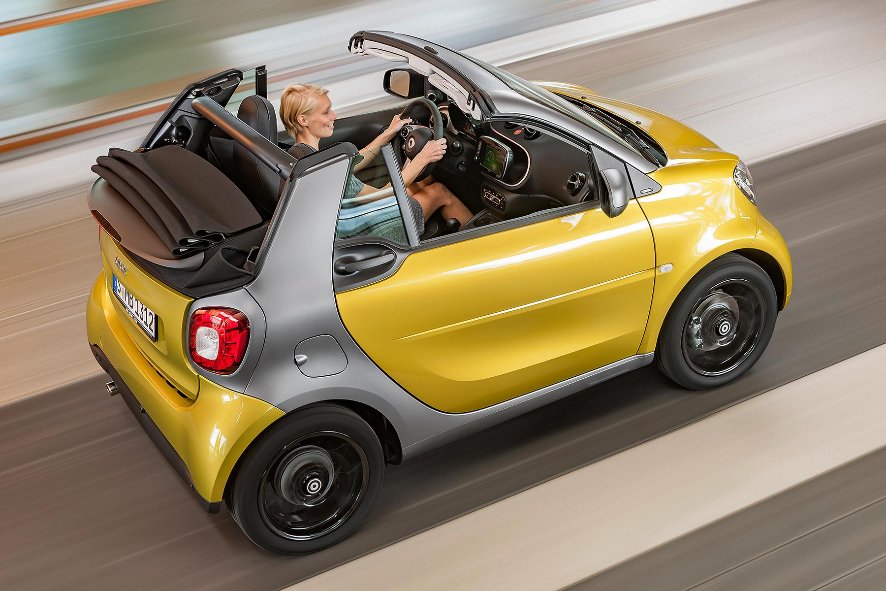 smart fortwo cabriolet to debut at 2015 frankfurt motor show motoring research. Black Bedroom Furniture Sets. Home Design Ideas