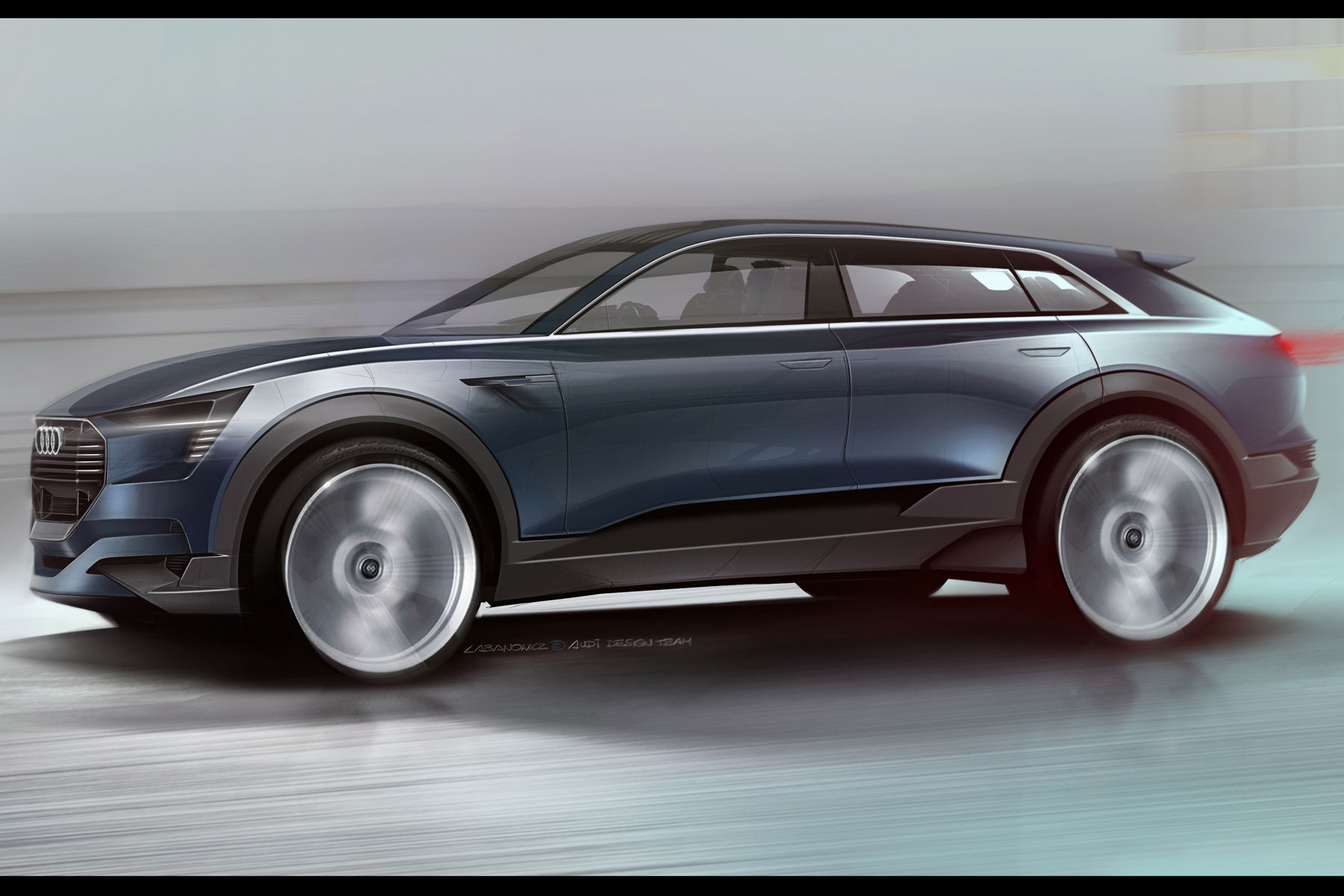 Audi reveals e-tron SUV concept with a range of 310 miles
