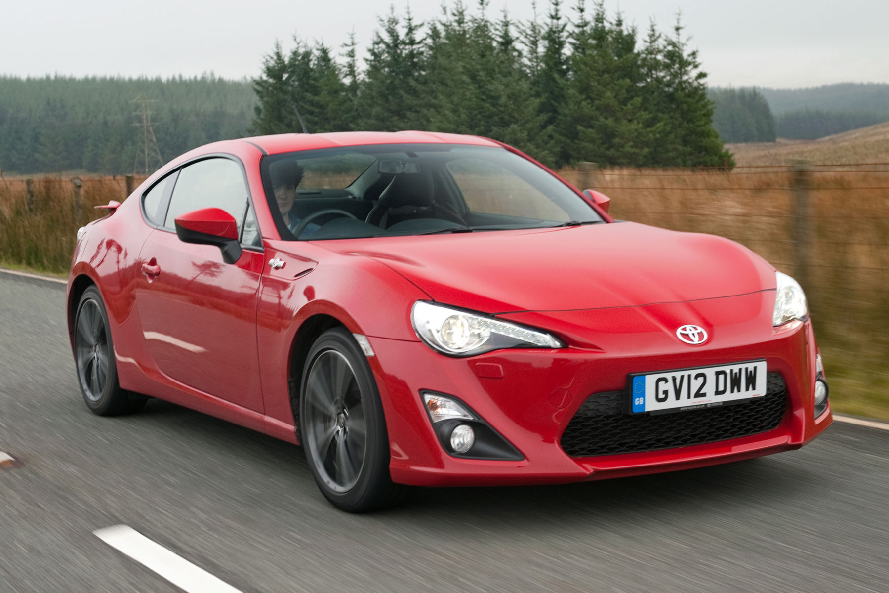 Toyota GT86: on the road
