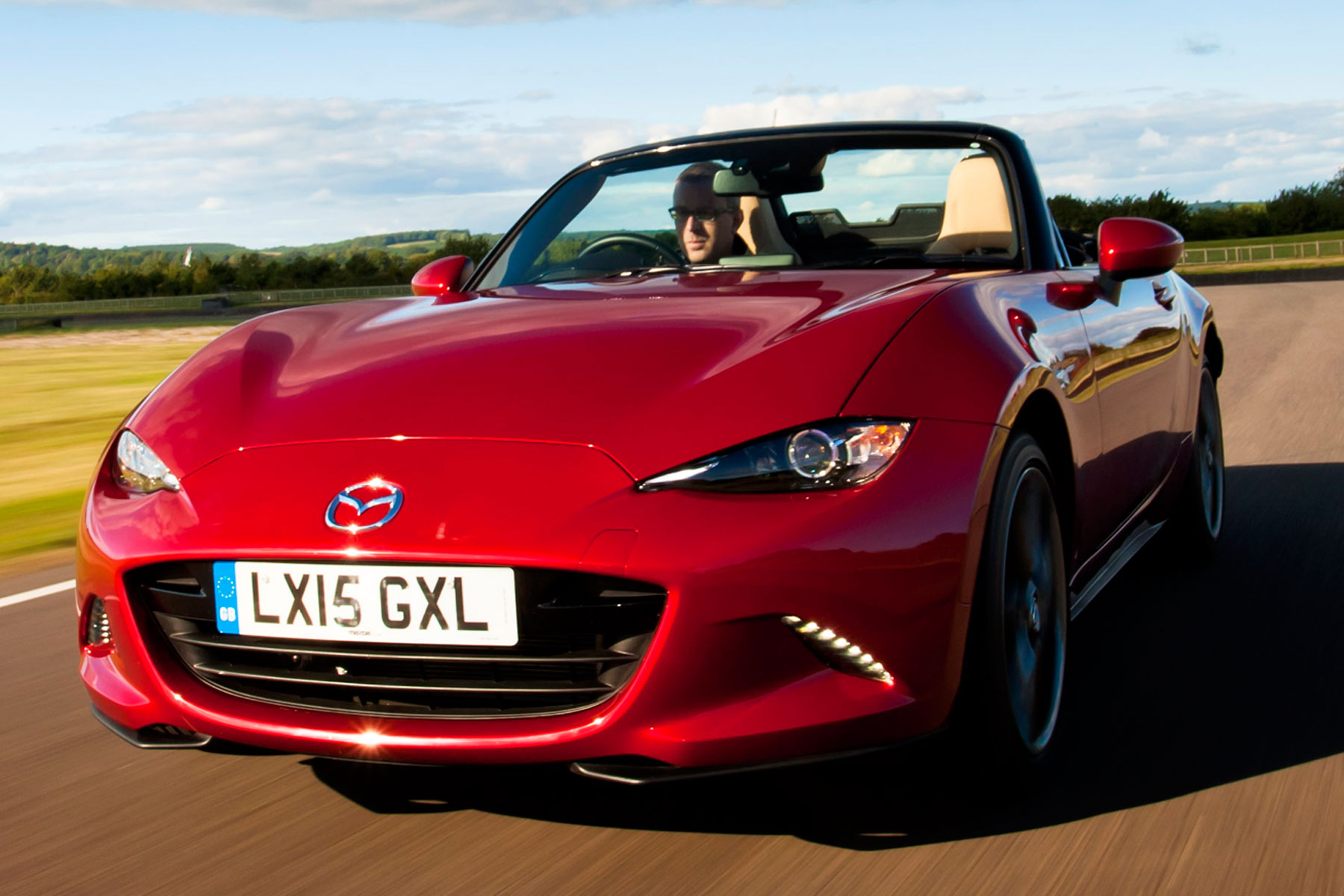 Mazda MX-5: on the road