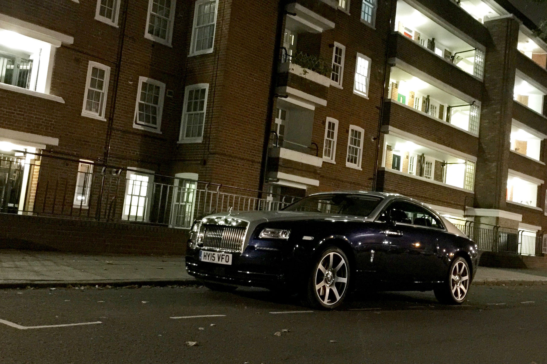 Rolls-Royce Wraith at Euston