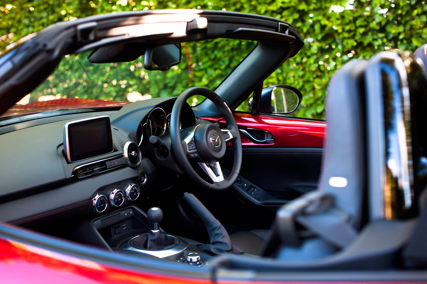 2015 Mazda MX-5: on the inside