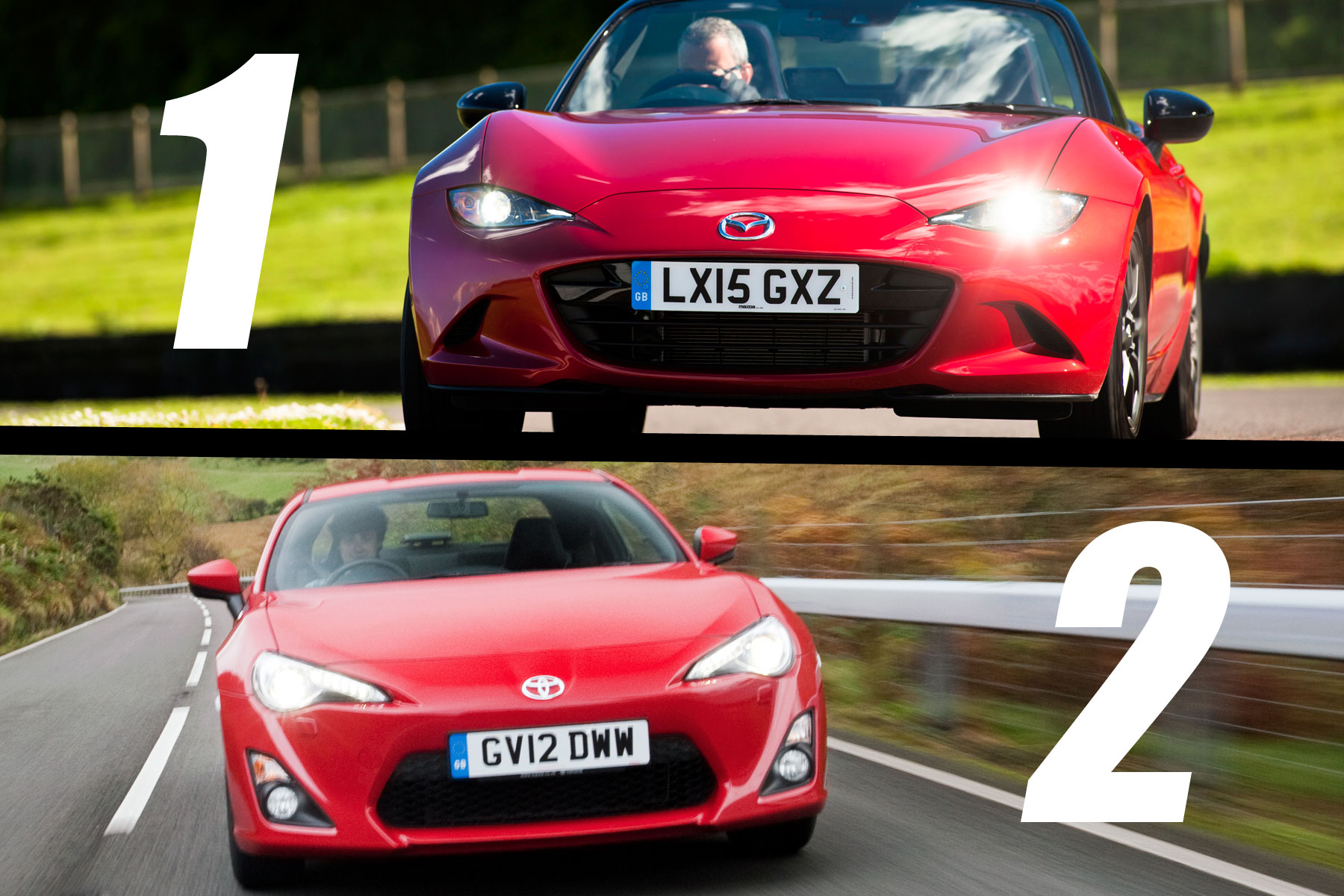 Mazda MX-5 versus Toyota GT86: verdict