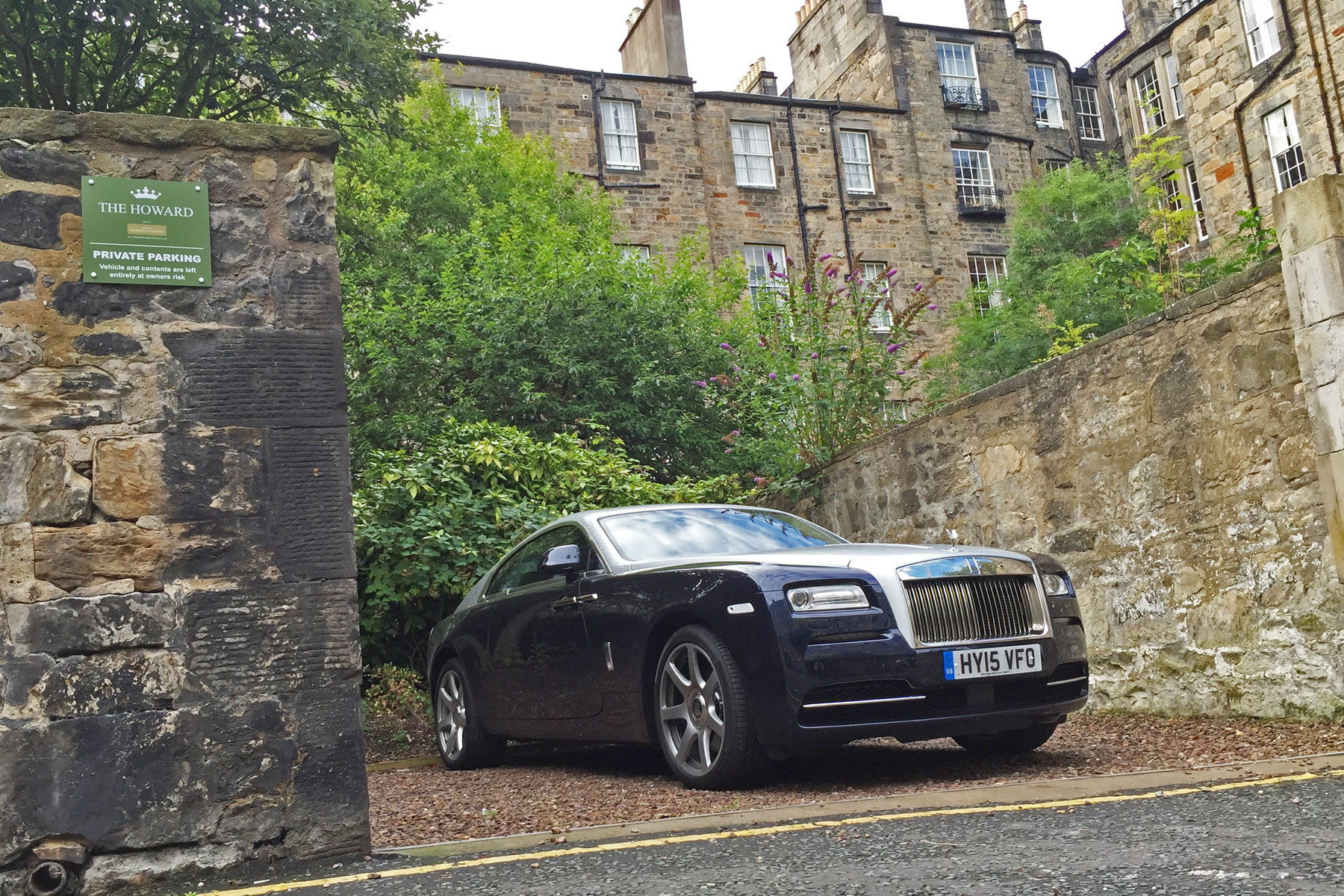 Rolls-Royce Wraith in Edinburgh
