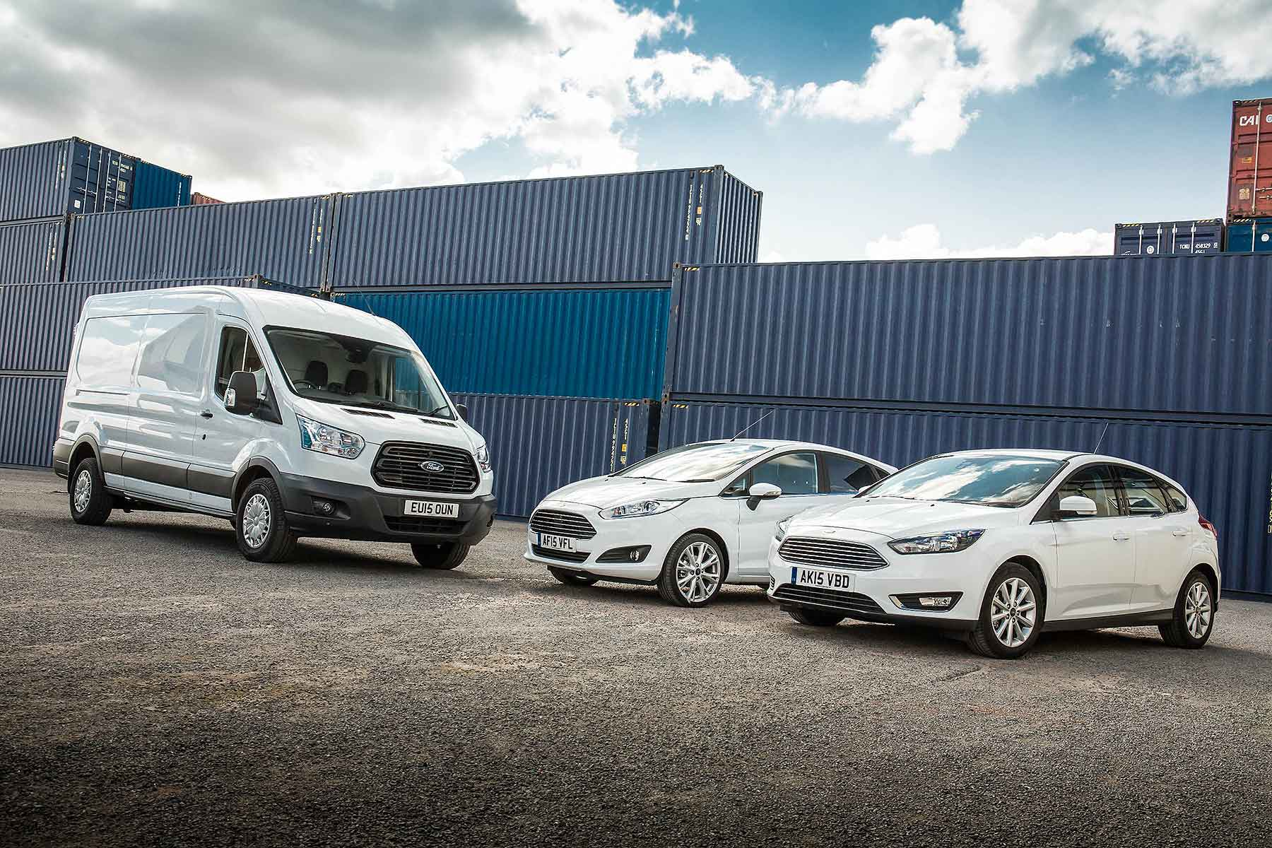 Ford Fiesta, Focus and Transit