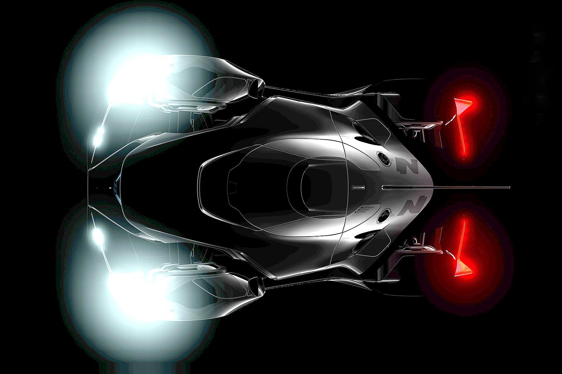 Hyundai N 2025 Vision Gran Turismo teaser