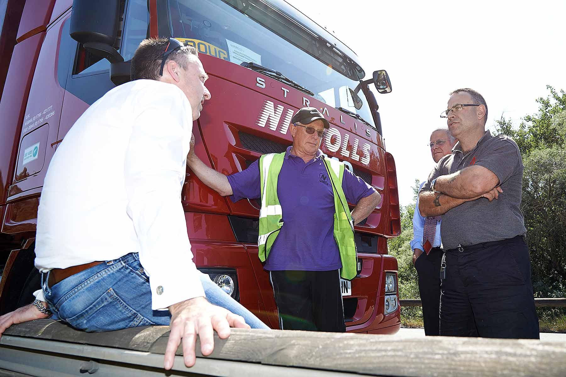 RHA Calais truckers