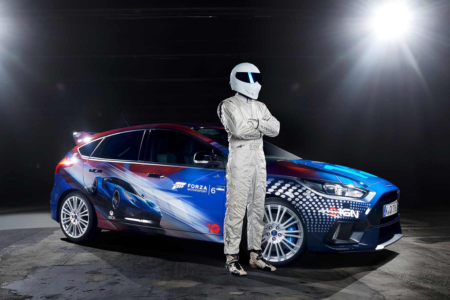 The Stig and the Forza Focus RS