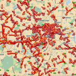 TomTom traffic map