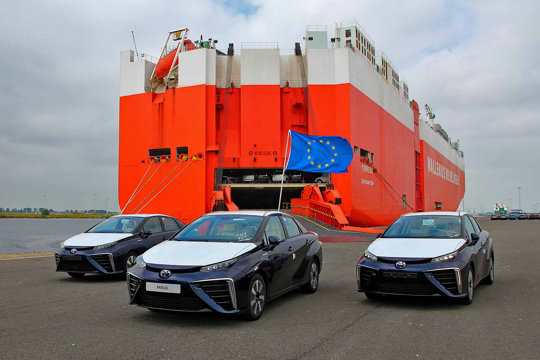Toyota Mirai arrives Europe