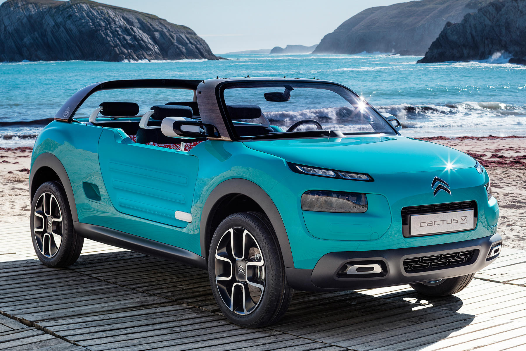 Citroen Cactus M Concept revealed ahead of Frankfurt