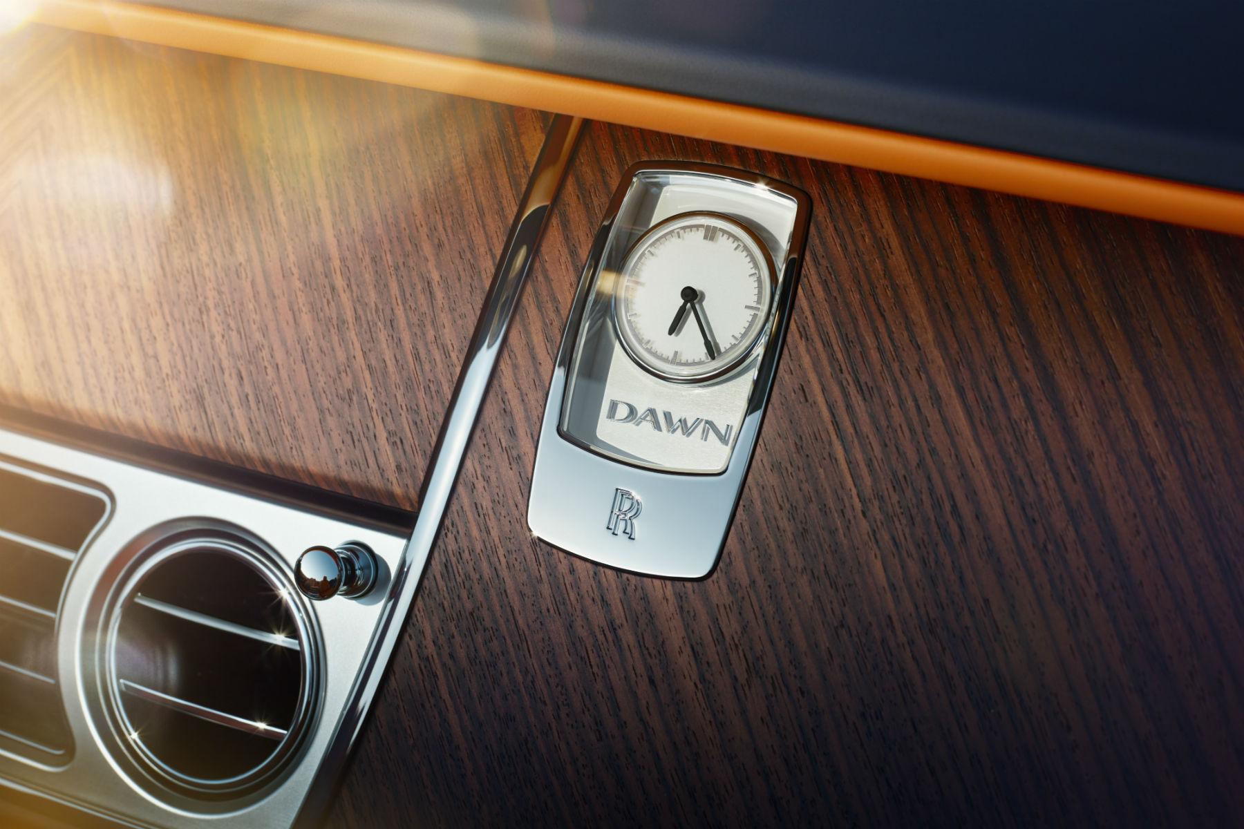 Rolls-Royce Dawn teased ahead of next week's debut