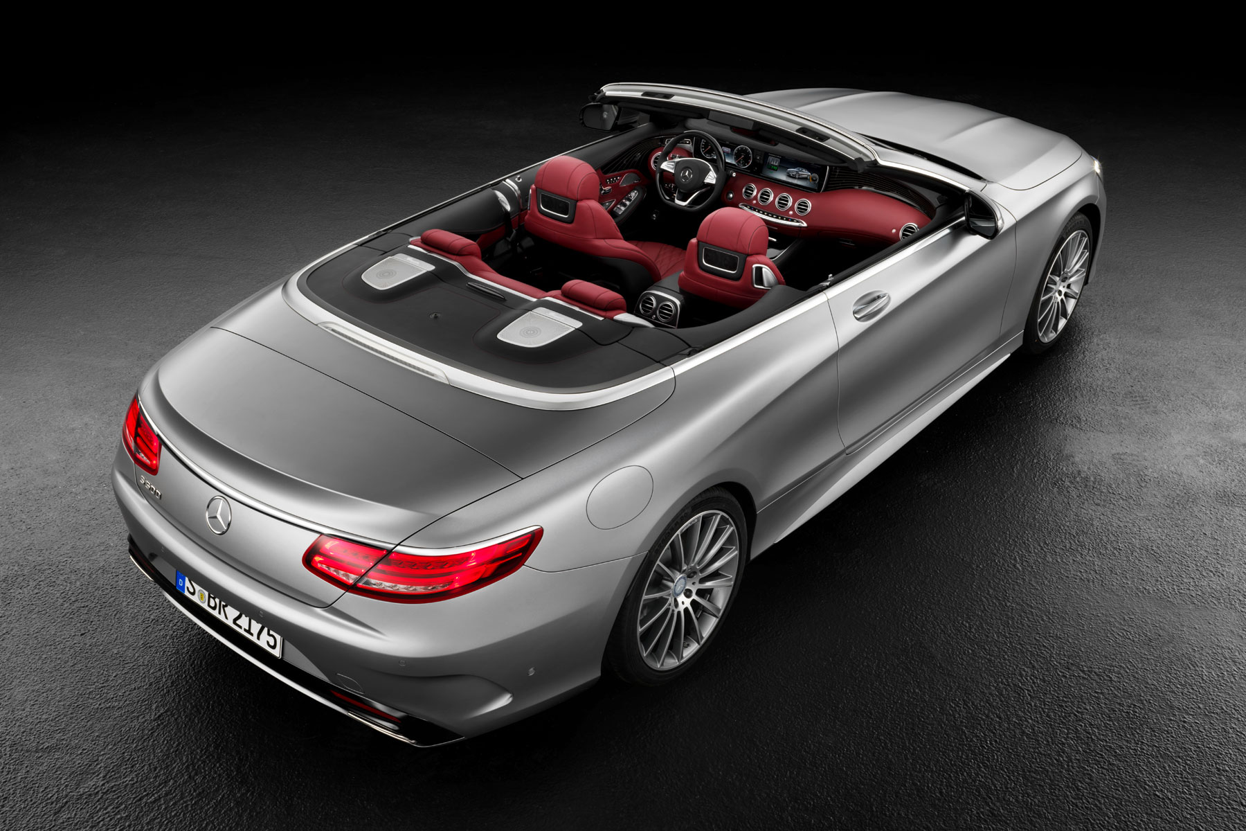 Mercedes-Benz S-Class cabriolet revealed ahead of Frankfurt debut