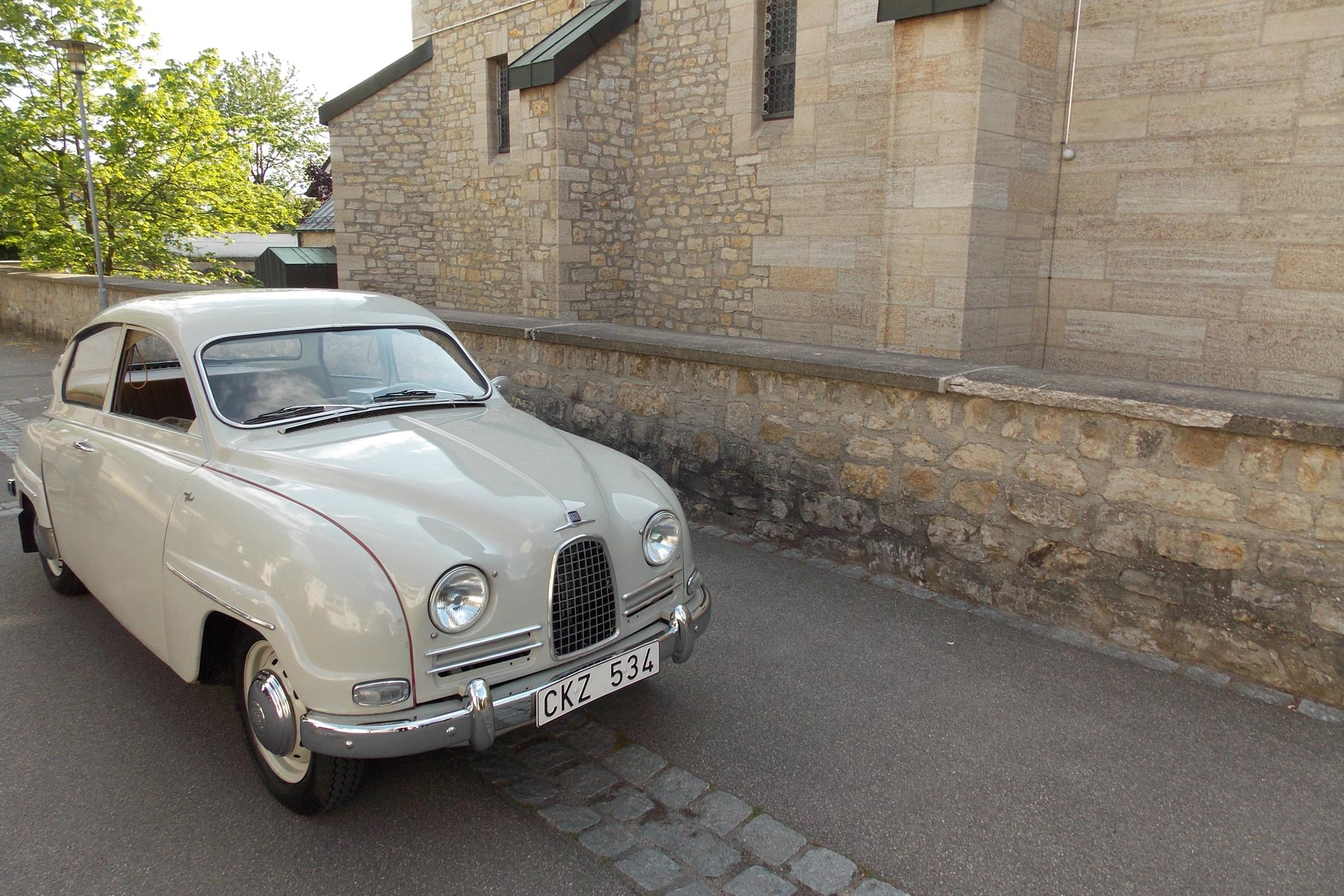 1960 Saab 96: new arrival