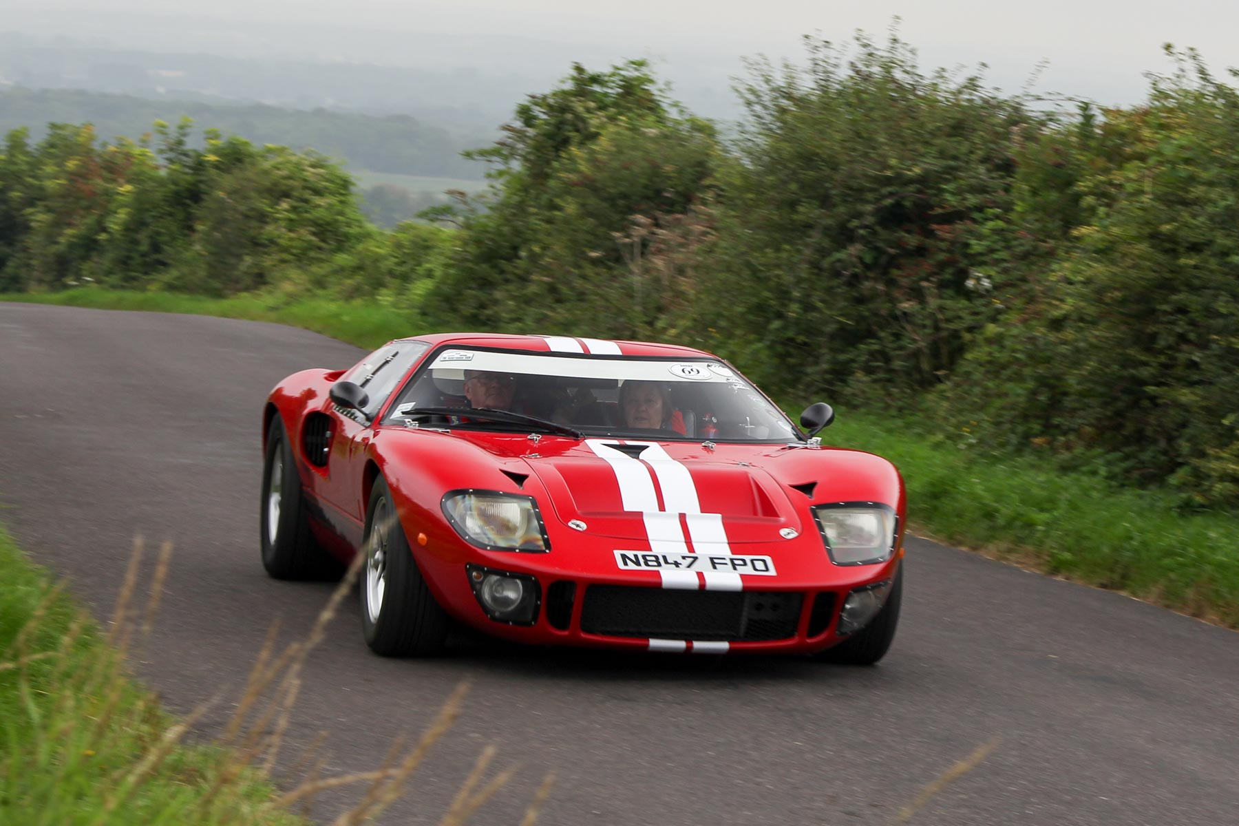 145 Vintage Cars Racing Up Shere Hill Climb This Weekend