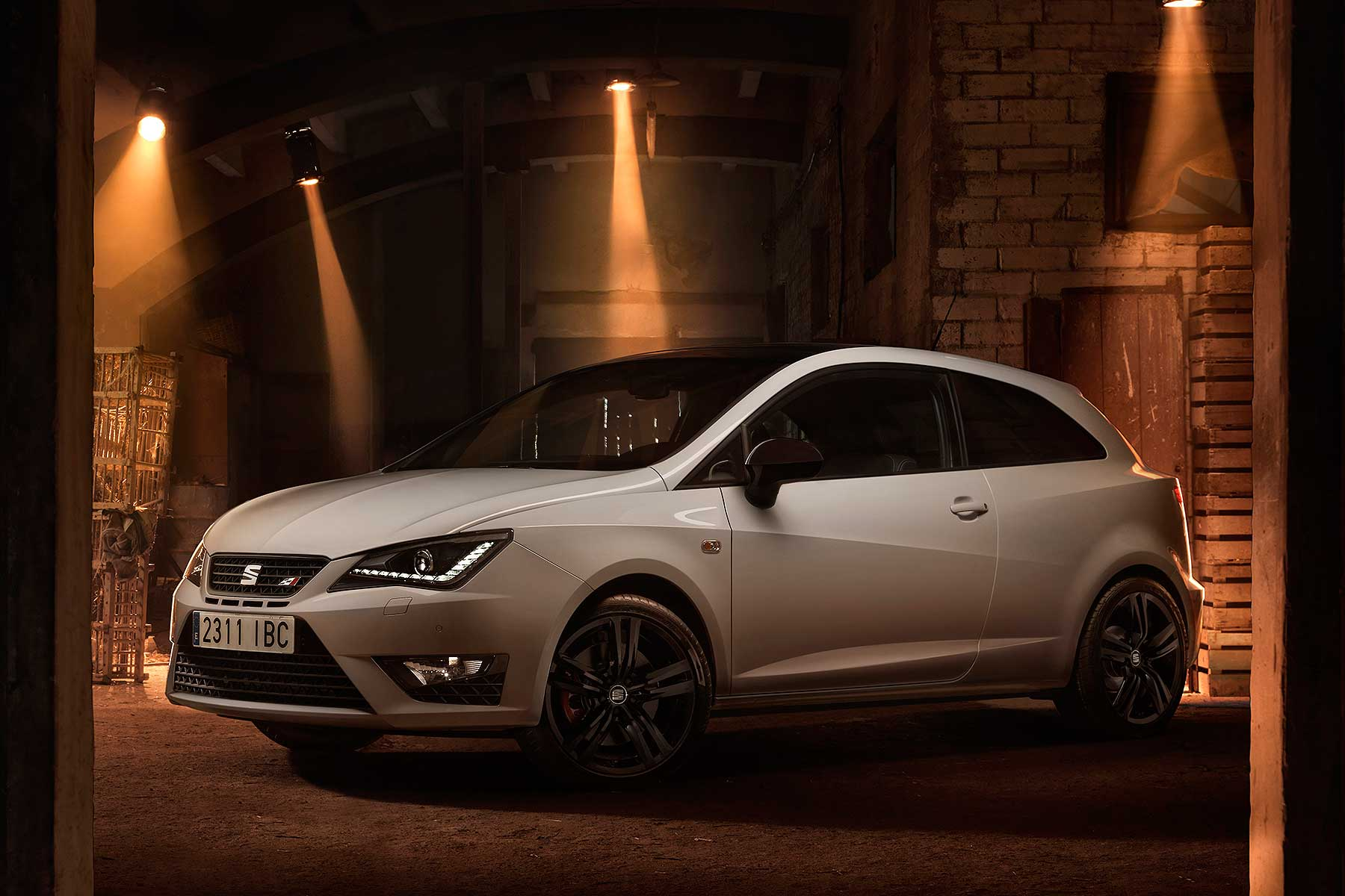 revised seat ibiza cupra now with 192hp 1 8 tsi engine. Black Bedroom Furniture Sets. Home Design Ideas