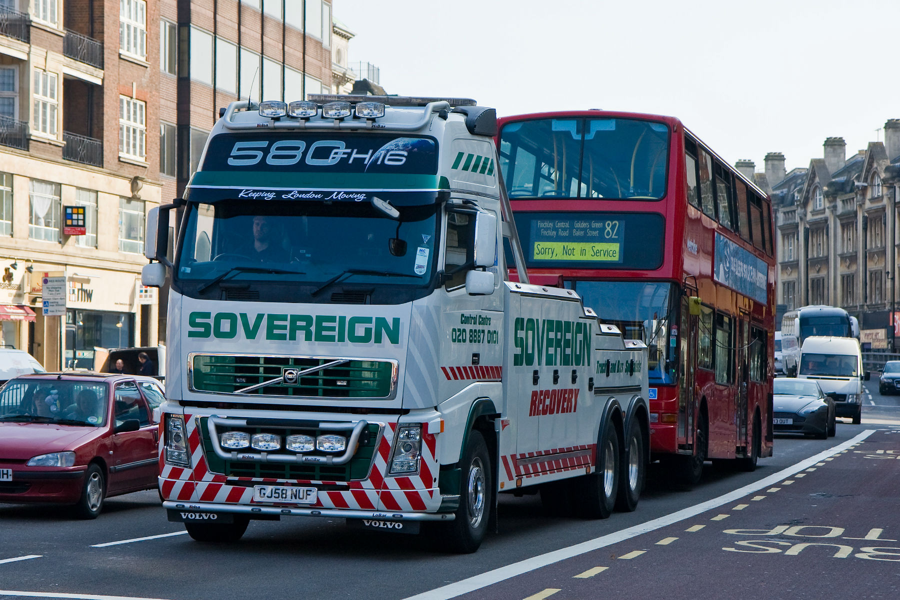 New trucking laws introduced in London from TODAY