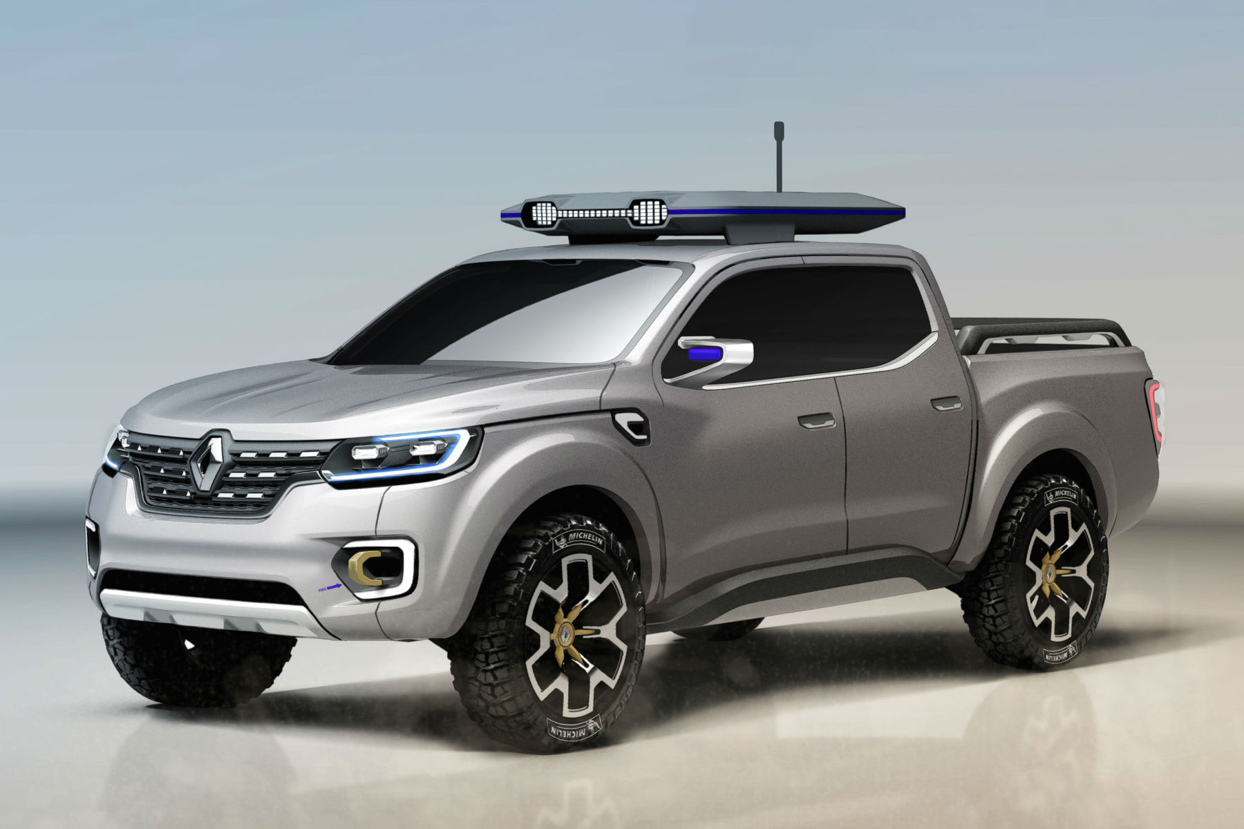 Renault Alaskan concept previews new pick-up truck