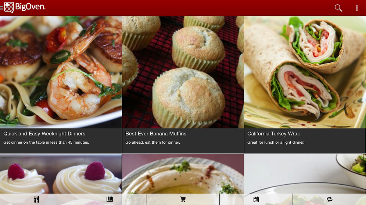 The best bakking and cooking apps