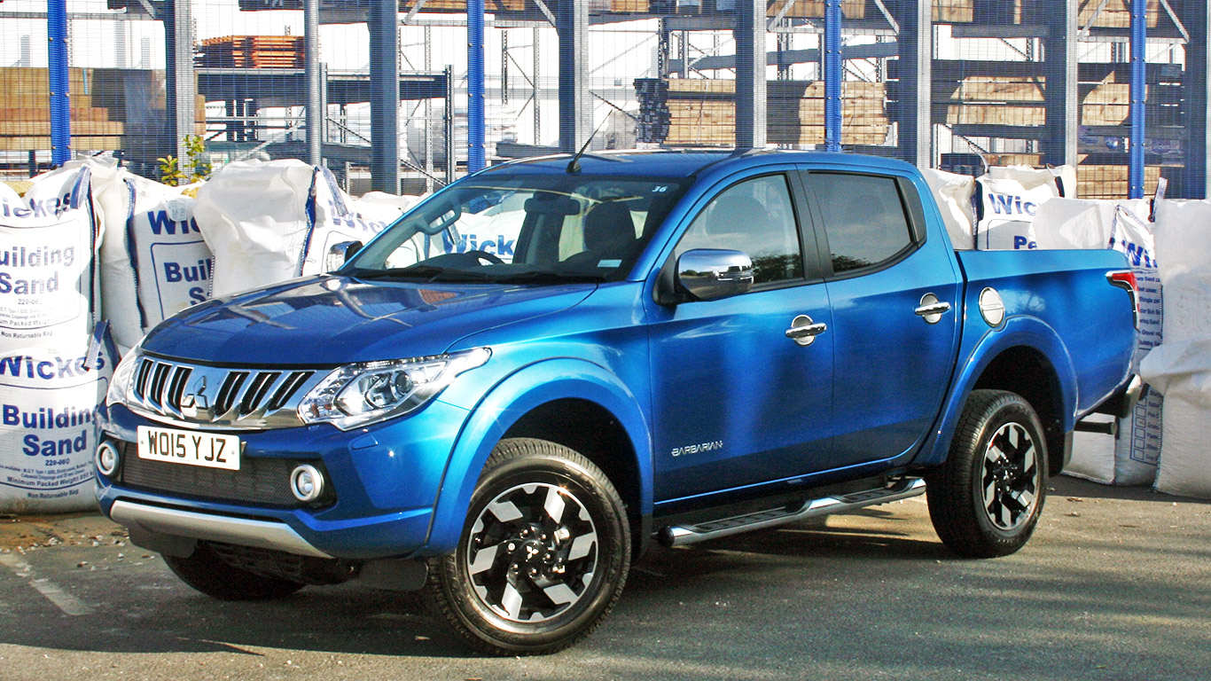 Mitsubishi L200 Two Minute Road Test