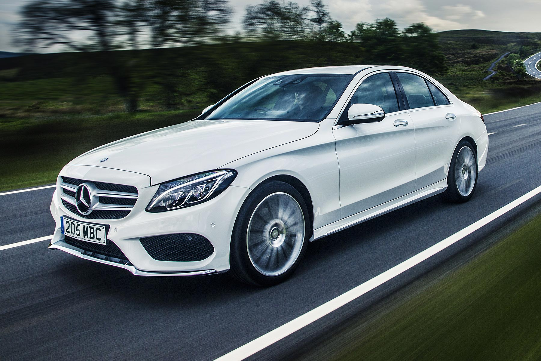 mercedes benz c 250 d amg line review 2015 road test