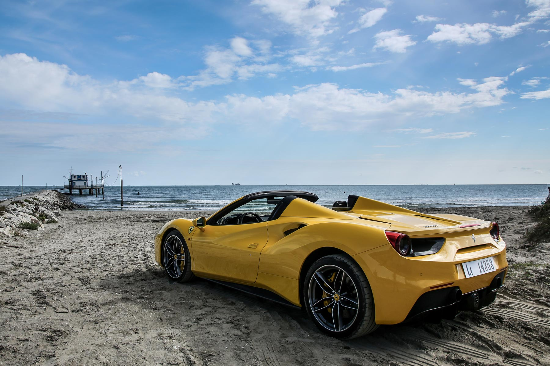 ferrari 488 spider review 2015 first drive motoring research. Black Bedroom Furniture Sets. Home Design Ideas