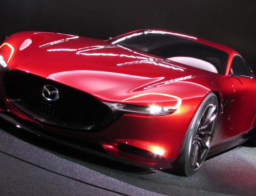Mazda's RX-Vision rotary-engined concept car makes the internet go 'phwoarrr'