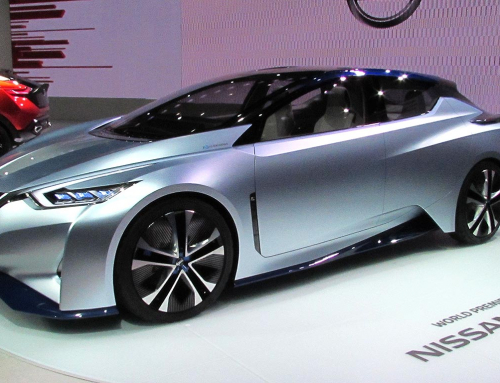 Nissan IDS Concept previews next Nissan LEAF at Tokyo Motor Show