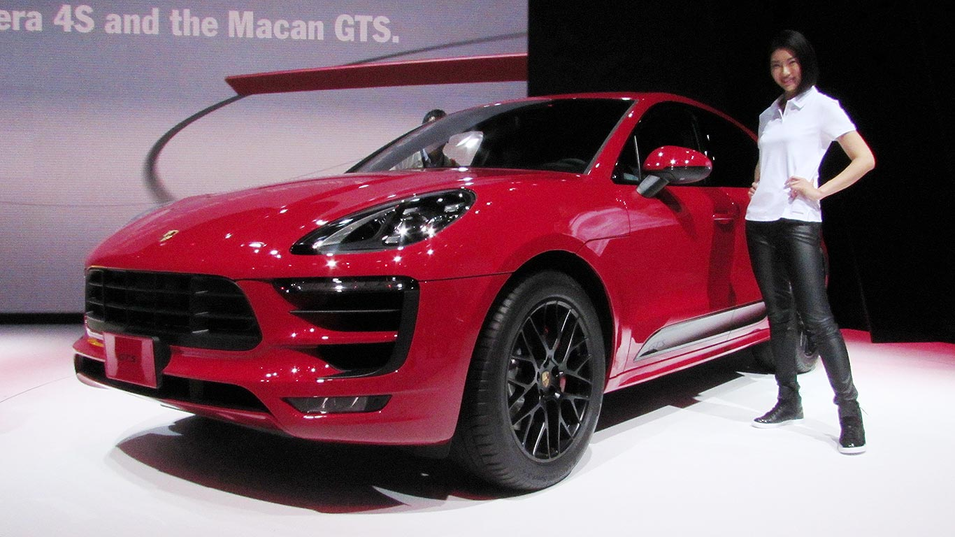 Porsche Macan SUV gets hot GTS treatment