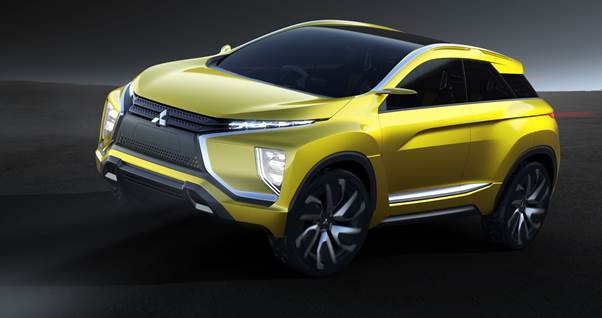 Mitsubishi teases eX concept ahead of Tokyo Motor Show debut