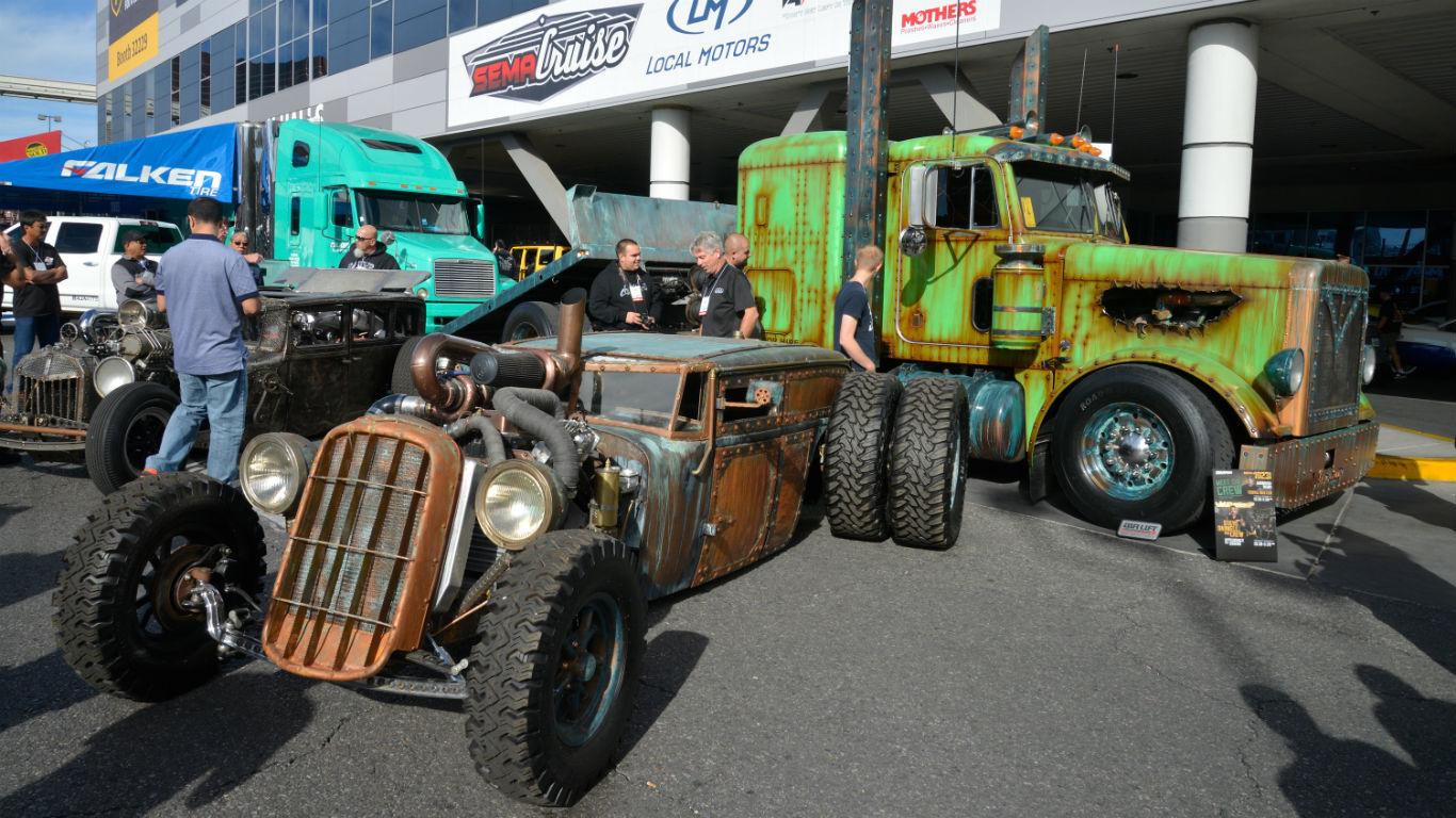 7 of the craziest concept cars at the SEMA auto show