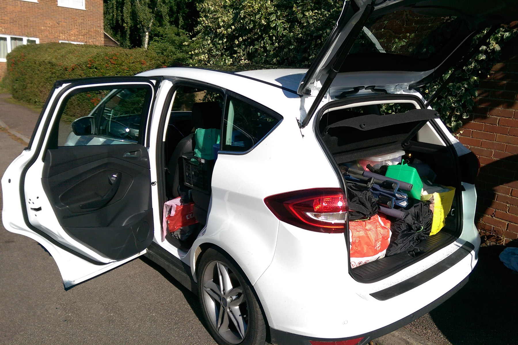 2015 ford c max 1 5 tdci titanium x a week in cornwall. Black Bedroom Furniture Sets. Home Design Ideas