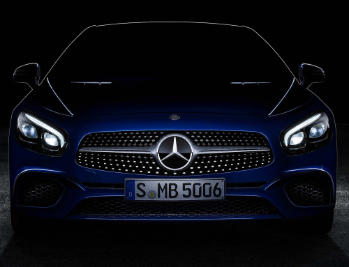 New Mercedes-Benz SL teased: LA debut for revised roadster