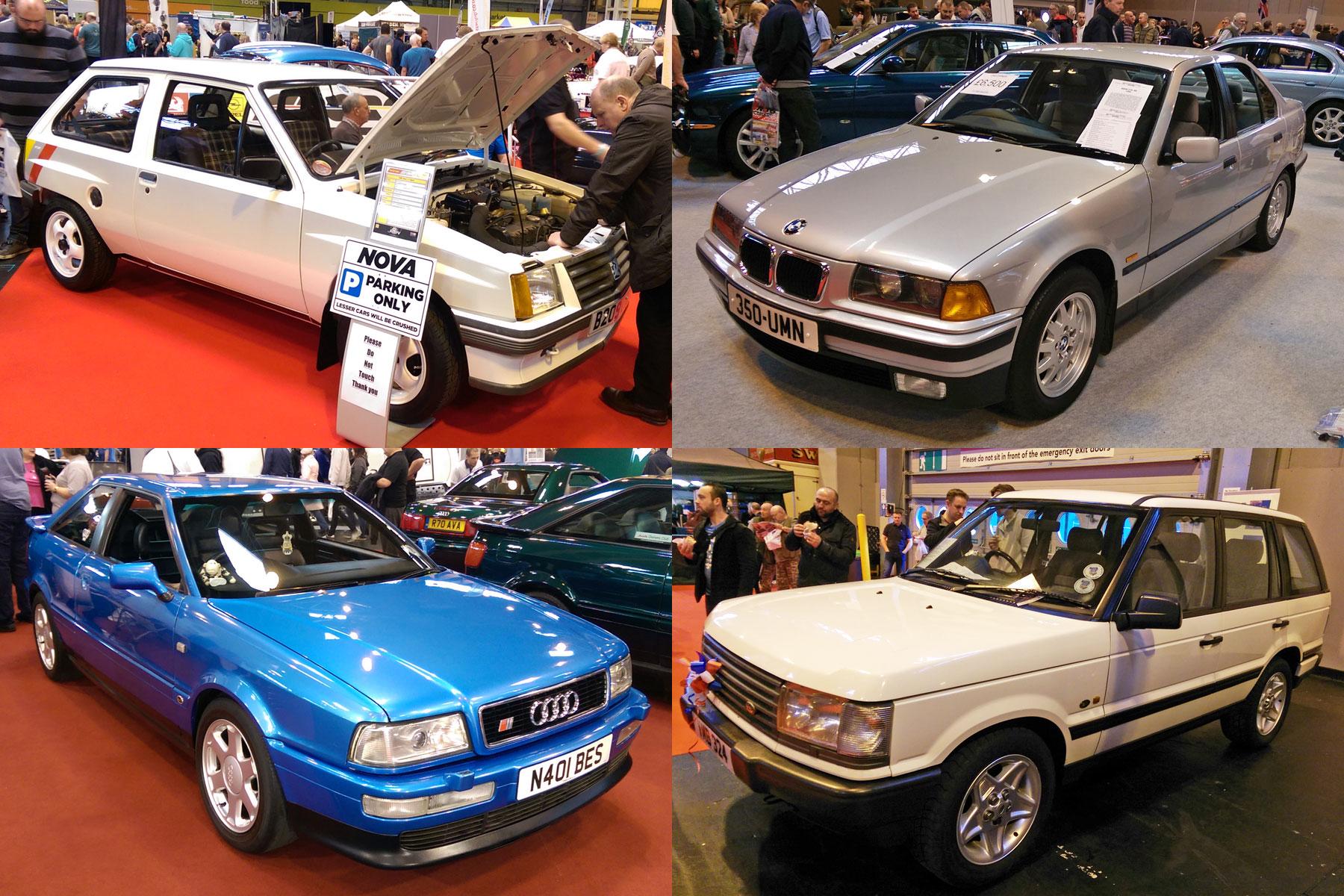 11 modern classics at the NEC Classic Motor Show