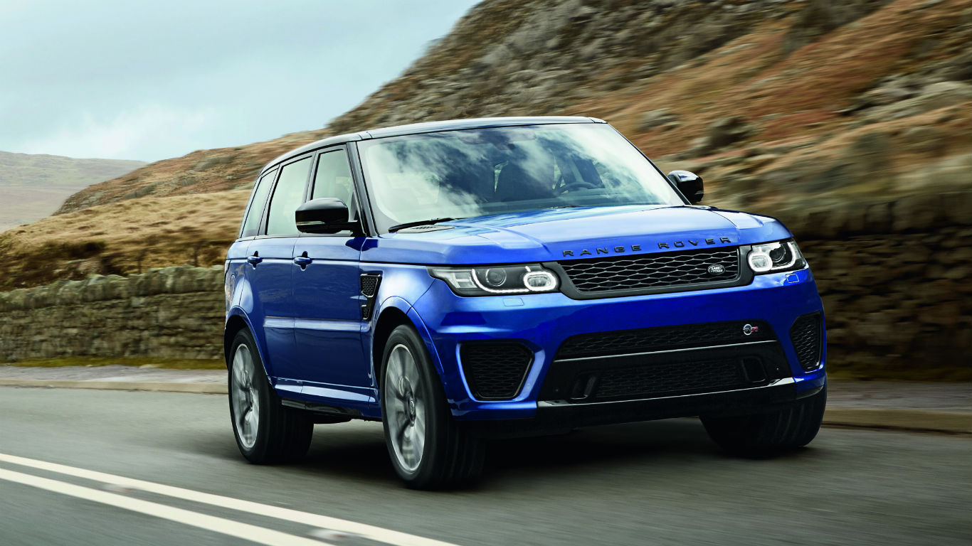 range rover sport svr two minute road test motoring. Black Bedroom Furniture Sets. Home Design Ideas