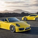 2016 Porsche 911 Turbo and Turbo S