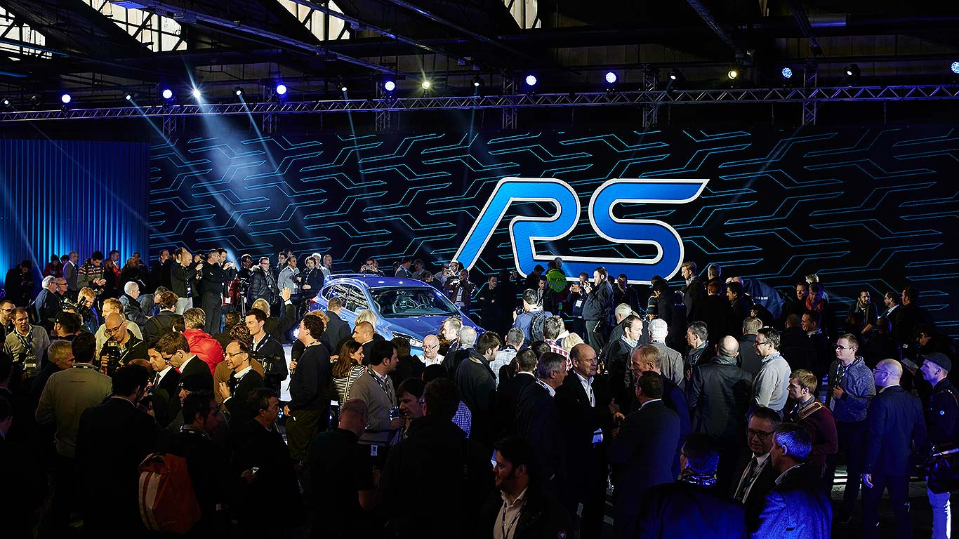 2015 Ford Focus RS reveal
