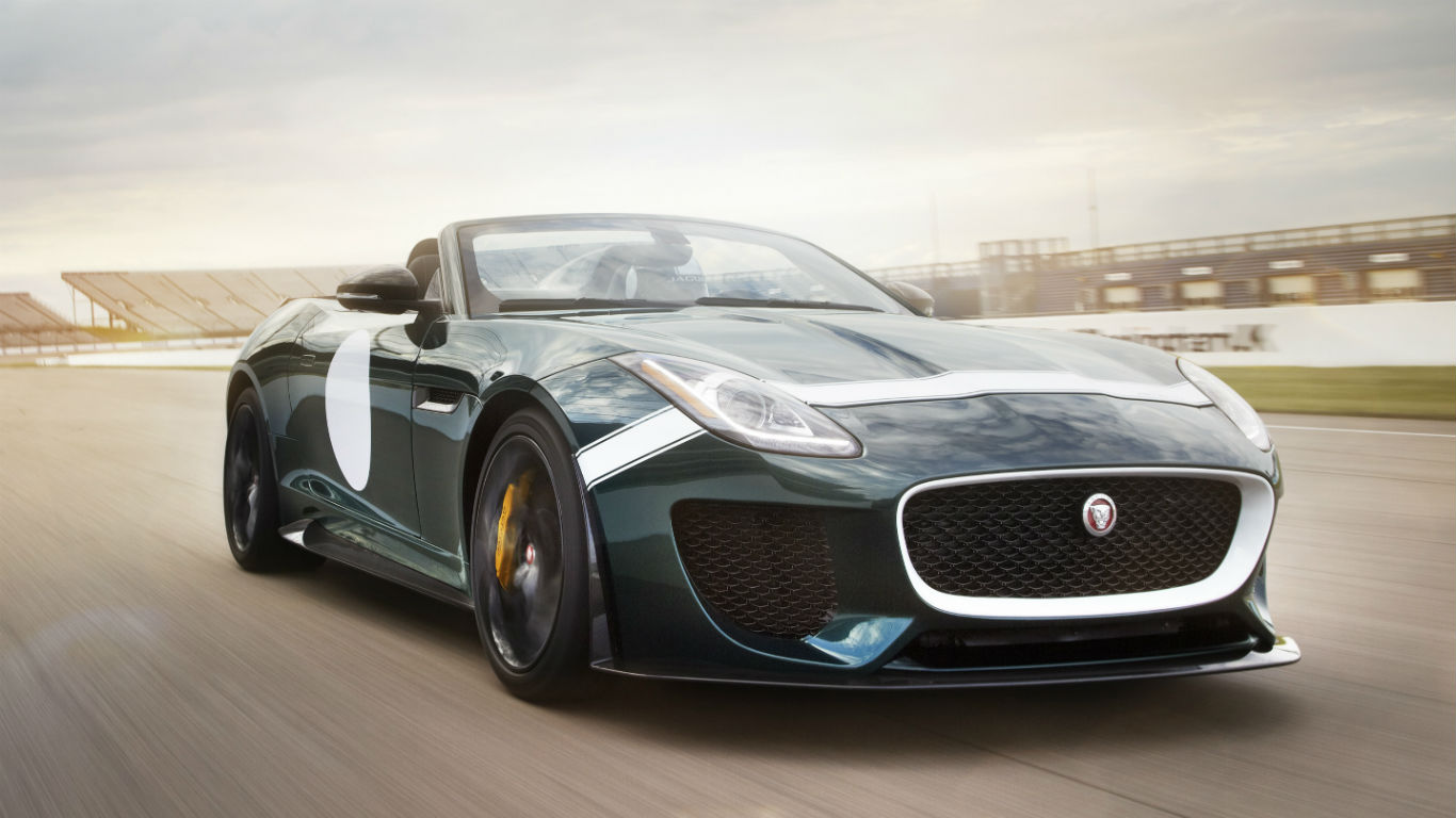 david beckham buys limited edition jaguar project 7 motoring research. Black Bedroom Furniture Sets. Home Design Ideas