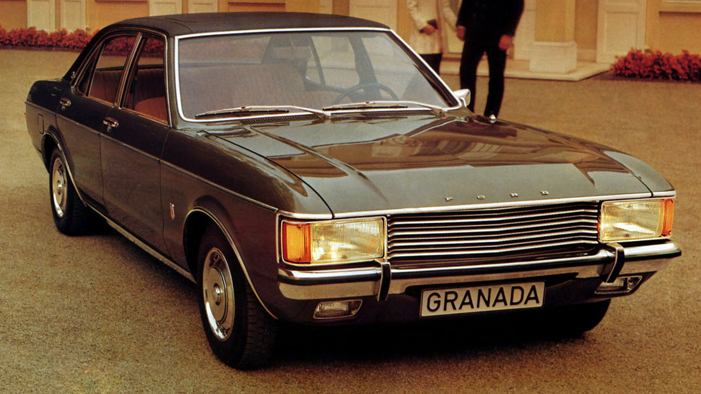 Ford Granada - the story of the legendary model 70s 51